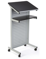 Steel Laptop Presentation Cart