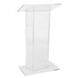Acrylic Lectern, Weighs 42 lbs
