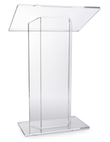 "Assembled Large Top ""CV"" Acrylic Podium"
