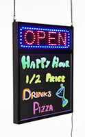 led message sign for wall hanging