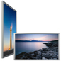LED Illuminated Silver 30 x 40 Lighted Frame