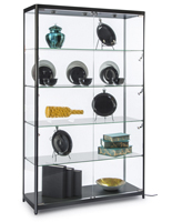 Modern LED Display Cabinet with Aluminum Construction