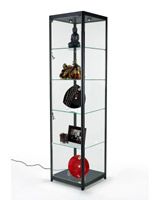 Modern LED Display Tower for Collectables