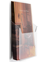 Wall Mount Plexi Literature Holder