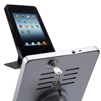 locking tabletop ipad holders