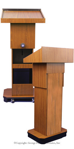 adjustable lectern