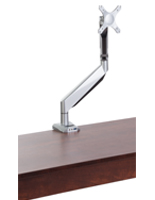 Silver Single Monitor Arm