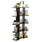 Knock Down Curved Wooden Shelves
