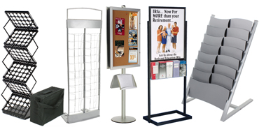 metal floor standing magazine holders