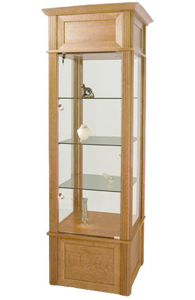 mid size square trophy cases