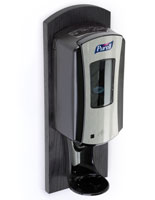 Black Purell Wall Dispenser for Sanitizing