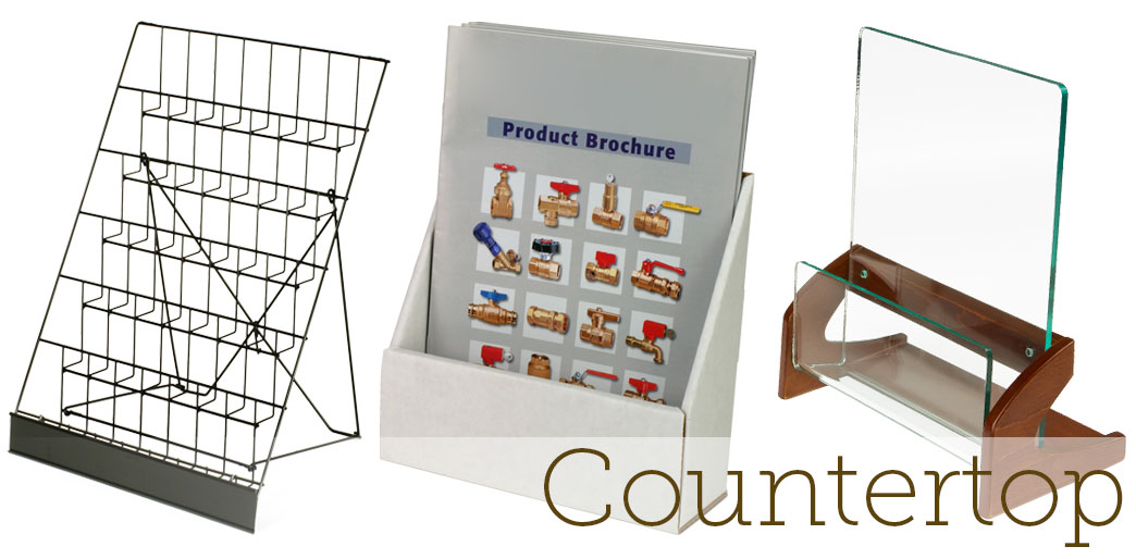 countertop magazine racks