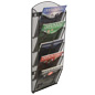 Durable Hanging Mesh Magazine Rack