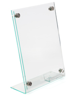 Acrylic High End Business Card Sign Holder