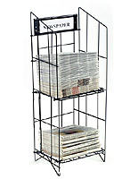 newspaper rack