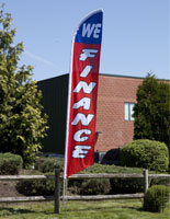 we finance message flag