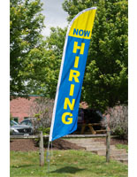Polyester Now Hiring Flag
