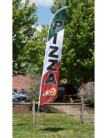 Polyester Pizza Flag