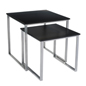 Black Contemporary Nesting Tables