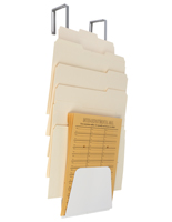Hanging Cubicle File Holder for Inter-Office Mail