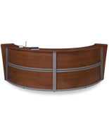 Curved Reception Desk for Offices