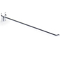 "12"" Chrome Peg Hooks- Steel Wire"
