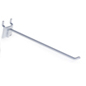 "8"" White Peg Hooks- Steel Wire"
