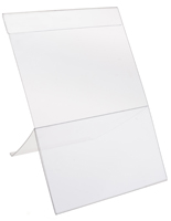 Plastic Easel Sign Holder Clear Plastic