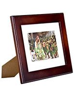 "5"" x 7"" Wood Picture Frames with Mat"