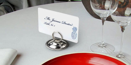 Delicieux Reserved Table Number Holders