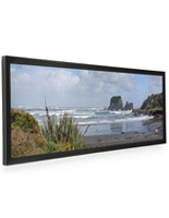 Black Frame for Panoramic Print