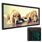 Black Panoramic Picture Frame