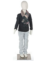 Flexible Child Mannequin with Detachable Arms