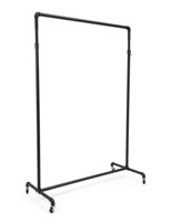 Height Adjustable Pipe Ballet Bar Clothing Rack