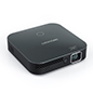Portable mini projector with Miracast and auto keystoning