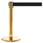 Mini Brass Retractable Stanchion for Crowd Control