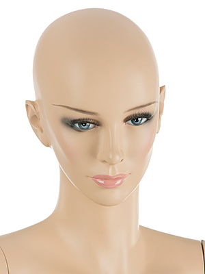 Mannequins with Lifelike Features