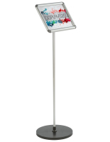 Ideal 11 x 8.5 Silver Snap Frame Stand