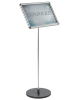 Ideal 17 x 11 Silver Snap Frame Stand