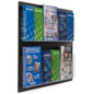Wall Mount Brochure Holders with Installation Hardware
