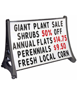 48 x 36 Tilt and Roll Sign with Letter Set