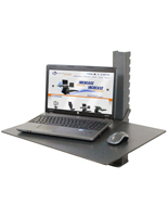 Adjustable Laptop Stand, Black Finish