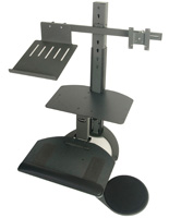 Steel Sit Stand Workstation