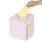 Pink Ballot Box – Table or Wall Mount