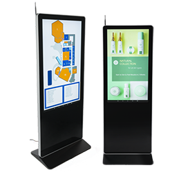 touch and non-touch digital signage