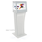 Clear LCD Display for Trade Shows