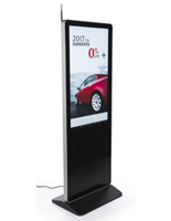 "43"" Digital Advertising Floor Stand Display for Notices"