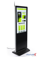 "43"" Digital Advertising Display System Floor Standing"