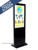 "Indoor 43"" multimedia advertising kiosk"