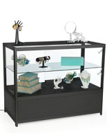 Black Knock Down Display Counter